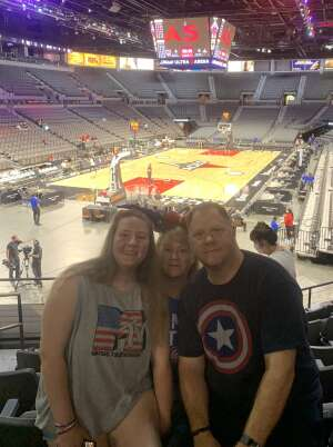 WayneO attended Las Vegas Aces vs. Atlanta Dream - WNBA on Jul 4th 2021 via VetTix