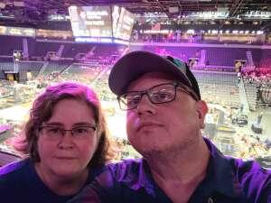 M Quinn attended Las Vegas Aces vs. Atlanta Dream - WNBA on Jul 4th 2021 via VetTix