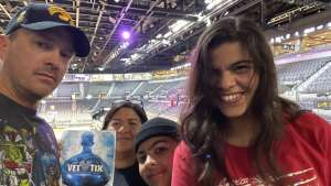 Susan Q attended Las Vegas Aces vs. Atlanta Dream - WNBA on Jul 4th 2021 via VetTix