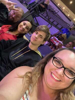 Scott attended Las Vegas Aces vs. Atlanta Dream - WNBA on Jul 4th 2021 via VetTix