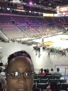 regina moore attended Las Vegas Aces vs. Atlanta Dream - WNBA on Jul 4th 2021 via VetTix