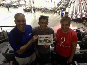 mace attended Las Vegas Aces vs. Atlanta Dream - WNBA on Jul 4th 2021 via VetTix