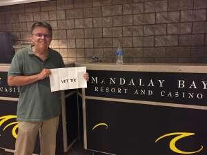 Larry G attended Las Vegas Aces vs. Atlanta Dream - WNBA on Jul 4th 2021 via VetTix