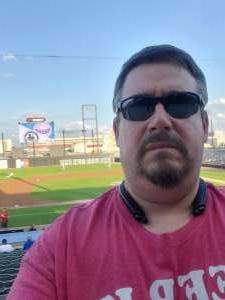 Keith Ustaszewski attended Chicago Dogs vs. Milwaukee Milkmen - MLB Partner League on Jul 14th 2021 via VetTix