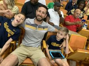 Justin C attended * TBT * the Basketball Tournament - 2021 West Virginia Regional: Round 1, Session 1 on Jul 17th 2021 via VetTix