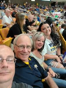 Tom attended * TBT * the Basketball Tournament - 2021 West Virginia Regional: Round 1, Session 1 on Jul 17th 2021 via VetTix
