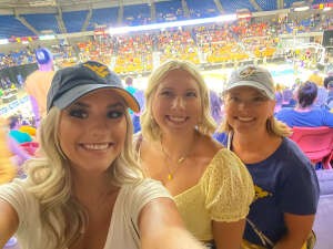 Bethany Christy attended * TBT * the Basketball Tournament - 2021 West Virginia Regional: Round 1, Session 1 on Jul 17th 2021 via VetTix