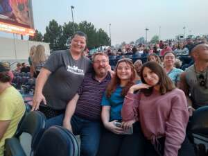 David and Family attended Lindsey Stirling - Artemis Tour North America 2021 on Jul 10th 2021 via VetTix
