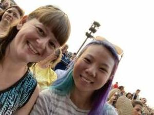 Melissa attended Lindsey Stirling - Artemis Tour North America 2021 on Jul 10th 2021 via VetTix