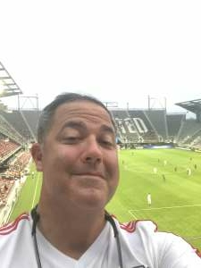 Chris attended Capital Cup: DC United International Doubleheader (1 of 3) on Jul 7th 2021 via VetTix