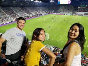 Luis attended Capital Cup: DC United International Doubleheader (1 of 3) on Jul 7th 2021 via VetTix