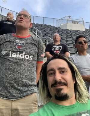 Richard attended Capital Cup: DC United International Doubleheader (1 of 3) on Jul 7th 2021 via VetTix