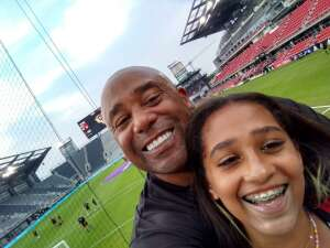 Ray J attended Capital Cup: DC United International Doubleheader (1 of 3) on Jul 7th 2021 via VetTix