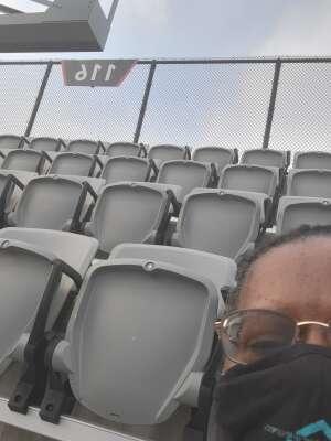 JM attended Capital Cup: DC United International Doubleheader (1 of 3) on Jul 7th 2021 via VetTix
