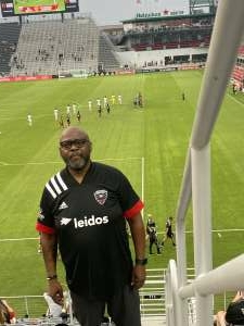 Marco Moore attended Capital Cup: DC United International Doubleheader (1 of 3) on Jul 7th 2021 via VetTix