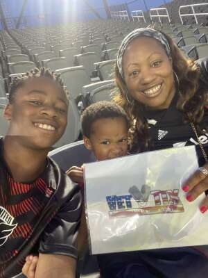 KD attended Capital Cup: DC United International Doubleheader (1 of 3) on Jul 7th 2021 via VetTix