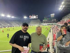Jay attended Capital Cup: DC United International Doubleheader (1 of 3) on Jul 7th 2021 via VetTix
