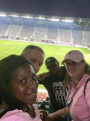 bamk attended Capital Cup: DC United International Doubleheader (1 of 3) on Jul 7th 2021 via VetTix