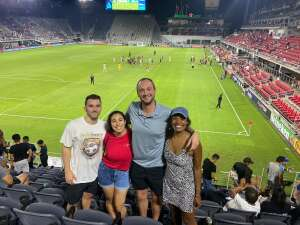 Paul S attended Capital Cup: DC United International Doubleheader (1 of 3) on Jul 7th 2021 via VetTix