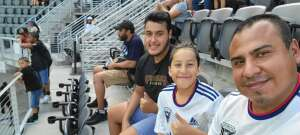 Winston  attended Capital Cup: DC United International Doubleheader (day 2 of 3) on Jul 11th 2021 via VetTix