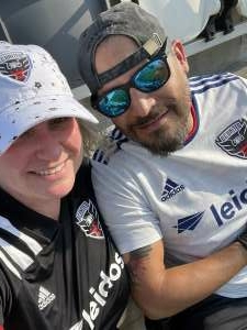 Denise attended Capital Cup: DC United International Doubleheader (day 2 of 3) on Jul 11th 2021 via VetTix