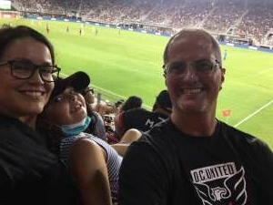 Wilmerd attended Capital Cup: DC United International Doubleheader (day 2 of 3) on Jul 11th 2021 via VetTix
