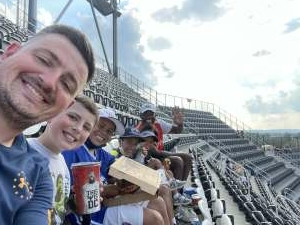 James attended Capital Cup: DC United International Doubleheader (day 2 of 3) on Jul 11th 2021 via VetTix