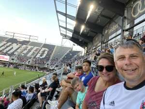 Barry attended Capital Cup: DC United International Doubleheader (day 2 of 3) on Jul 11th 2021 via VetTix