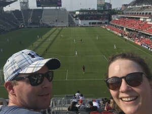 Abby L. attended Capital Cup: DC United International Doubleheader (day 2 of 3) on Jul 11th 2021 via VetTix