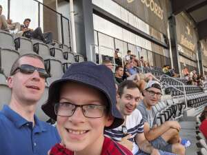 BP attended Capital Cup: DC United International Doubleheader (day 2 of 3) on Jul 11th 2021 via VetTix