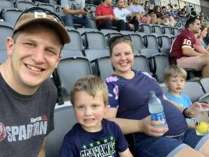 Blair attended Capital Cup: DC United International Doubleheader (day 2 of 3) on Jul 11th 2021 via VetTix