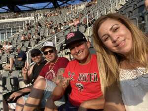 Edwin attended Capital Cup: DC United International Doubleheader (day 2 of 3) on Jul 11th 2021 via VetTix