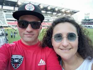 Jacob Moore attended Capital Cup: DC United International Doubleheader (day 2 of 3) on Jul 11th 2021 via VetTix