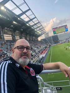 AB attended Capital Cup: DC United International Doubleheader (day 2 of 3) on Jul 11th 2021 via VetTix