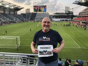 Andrew attended Capital Cup: DC United International Doubleheader (day 2 of 3) on Jul 11th 2021 via VetTix