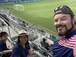 Devon attended Capital Cup: DC United International Doubleheader (day 2 of 3) on Jul 11th 2021 via VetTix