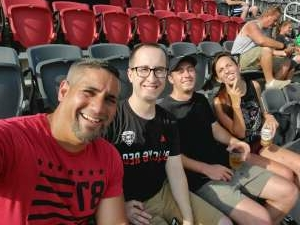 Luis attended Capital Cup: DC United International Doubleheader (day 2 of 3) on Jul 11th 2021 via VetTix