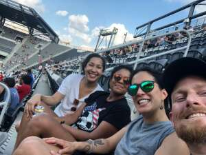 Jake attended Capital Cup: DC United International Doubleheader (day 2 of 3) on Jul 11th 2021 via VetTix