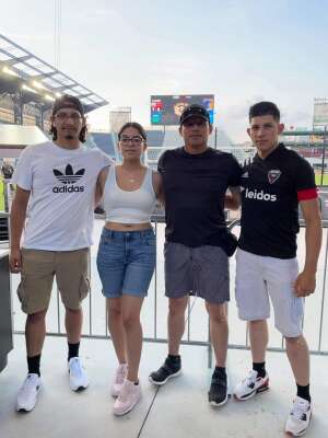 Sal Ambriz attended Capital Cup: DC United International Doubleheader (day 2 of 3) on Jul 11th 2021 via VetTix