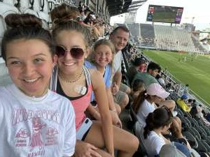 Terry attended Capital Cup: DC United International Doubleheader (day 2 of 3) on Jul 11th 2021 via VetTix