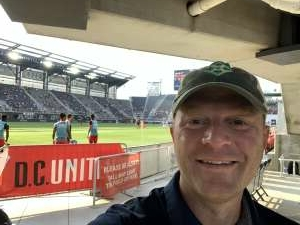 Gluber attended Capital Cup: DC United International Doubleheader (day 2 of 3) on Jul 11th 2021 via VetTix
