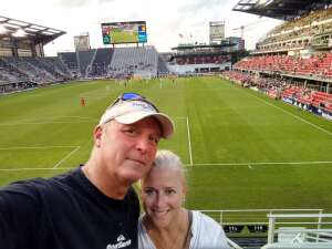 David L attended Capital Cup: DC United International Doubleheader (day 2 of 3) on Jul 11th 2021 via VetTix