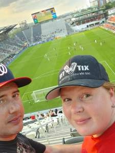 Shawn attended Capital Cup: DC United International Doubleheader (day 2 of 3) on Jul 11th 2021 via VetTix