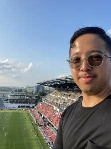 Gabriel attended Capital Cup: DC United International Doubleheader (day 2 of 3) on Jul 11th 2021 via VetTix