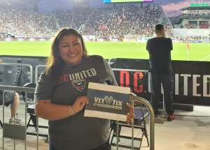Ana attended Capital Cup: DC United International Doubleheader (day 2 of 3) on Jul 11th 2021 via VetTix