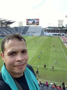 Emmanuel Campos attended Capital Cup: DC United International Doubleheader (day 2 of 3) on Jul 11th 2021 via VetTix