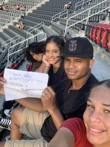 Zach attended Capital Cup: DC United International Doubleheader (day 2 of 3) on Jul 11th 2021 via VetTix