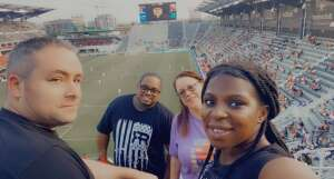 bamk attended Capital Cup: DC United International Doubleheader (day 2 of 3) on Jul 11th 2021 via VetTix