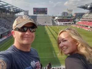 John P. attended Capital Cup: DC United International Doubleheader (day 2 of 3) on Jul 11th 2021 via VetTix