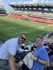 Paul Merritt  attended Capital Cup: DC United International Doubleheader (day 2 of 3) on Jul 11th 2021 via VetTix